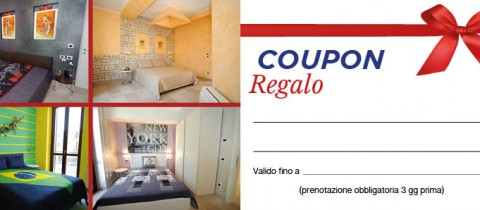 Coupon regalo!