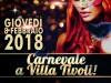 Carnevale con cena in maschera a Villa Tivoli!